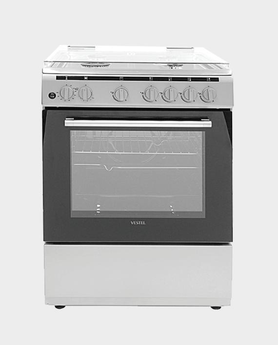 Vestel F66G40X 4 Burner Cooking Range 60x60 in Qatar