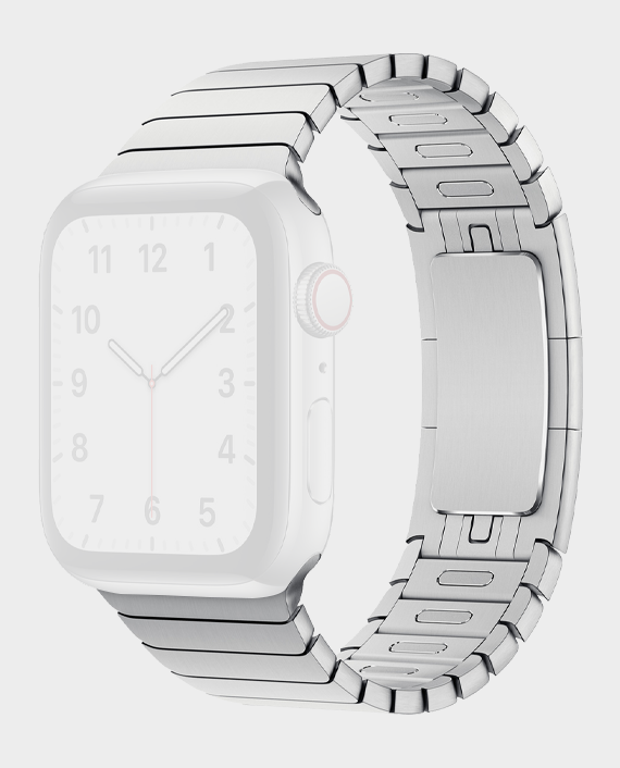 Green GNSTPST44WT Acero Correa Link Bracelet for Apple Watch 42/44mm Silver in Qatar