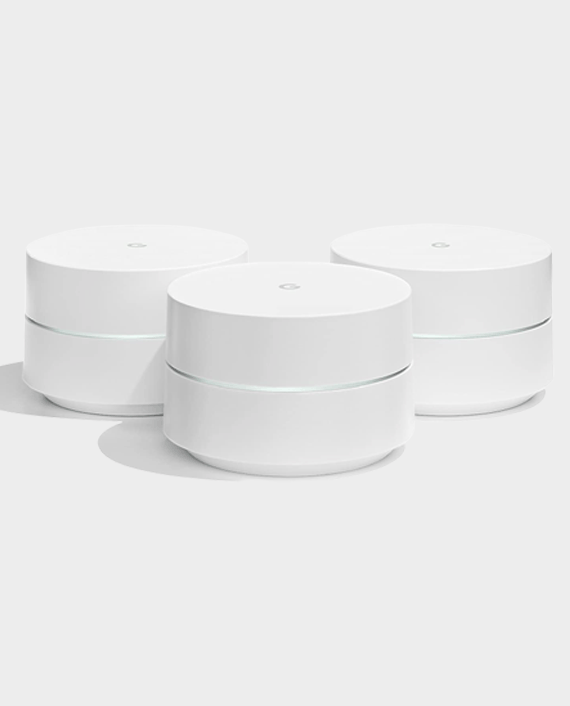 Google WiFi System 3 Pack White in Qatar