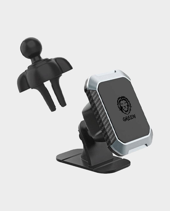Green 2 in 1 Magnetic Car Phone Holder in Qatar