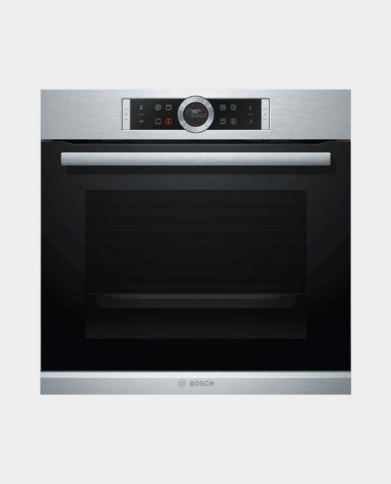 Bosch HBG655BS1M Series 8 Built-in Oven 60x60cm Stainless Steel in Qatar