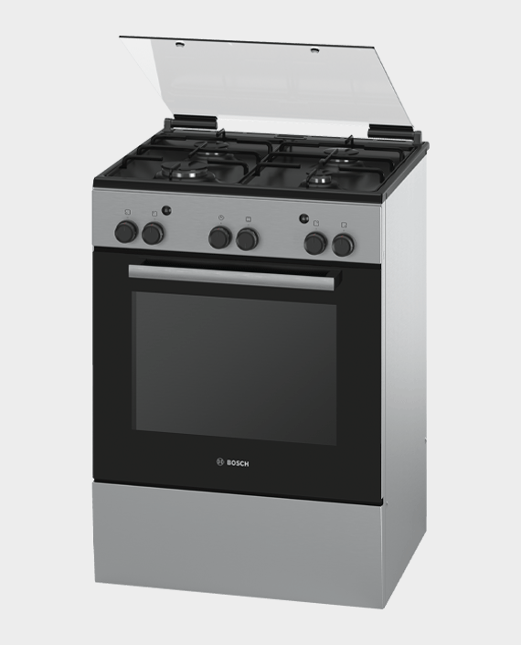 Bosch HGA233150M Serie 2 Free Standing Gas Cooker Stainless Steel in Qatar