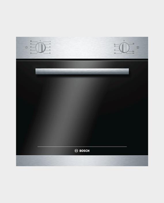 Bosch HGL10G050M Series 4 Gas Built-in Oven 60 x 60 cm Stainless Steel in Qatar