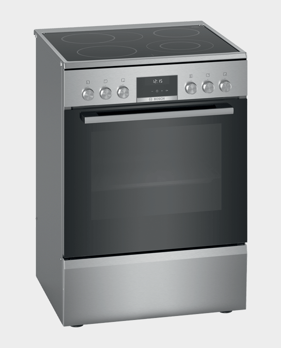Bosch HKS59A20M Series 6 Free Standing Electric Cooker Stainless Steel in Qatar
