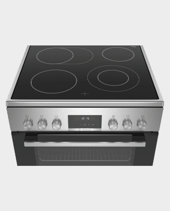 Bosch HKS59A20M Series 6 Free-Standing Electric Cooker Stainless Steel