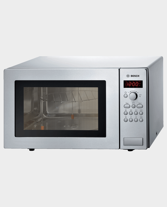 Bosch HMT84G451M Series 2 Free-Standing Microwave 51 x 30cm Stainless Steel in Qatar