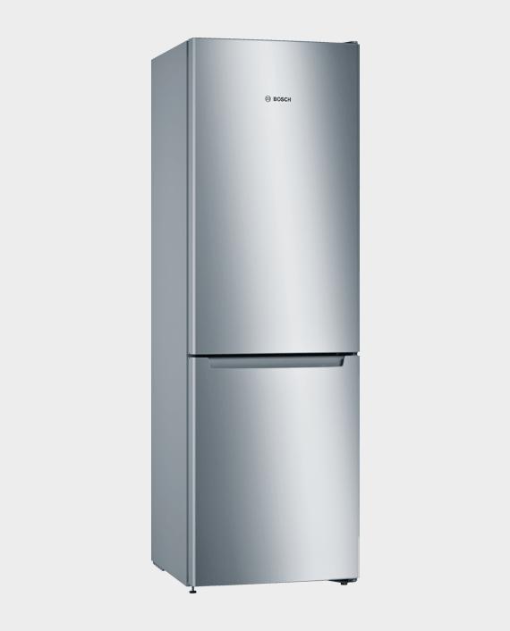 Bosch KGN36NL30M Series 2 Free Standing Fridge Freezer Stainless Steel in Qatar