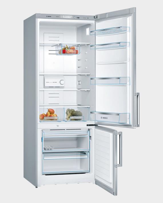 Bosch KGN57VL20M Series 4 Free Standing Fridge Freezer with Freezer in Qatar
