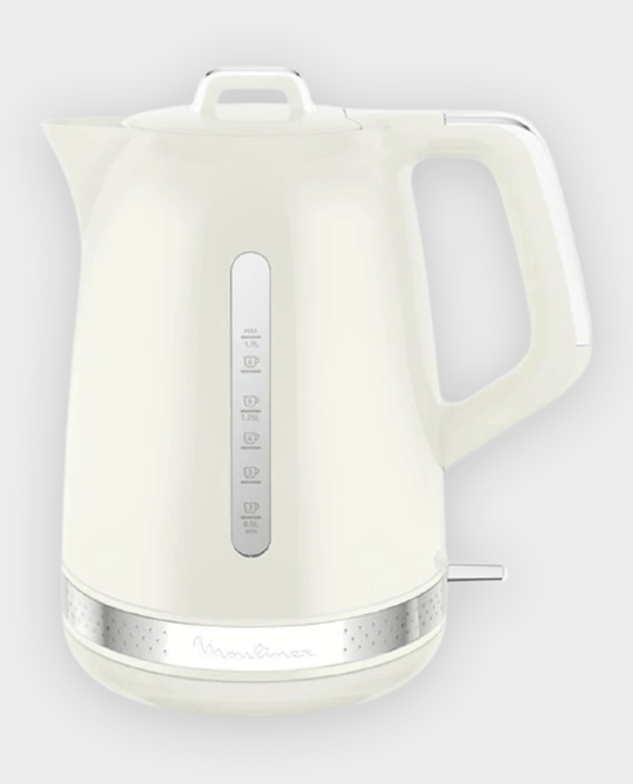Moulinex BY320A27 Plastic Kettle 1.7L White in Qatar