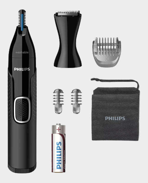 Philips NT5650/16 Series 5000 Nose Ear Eyebrow & Detail Trimmer in Qatar