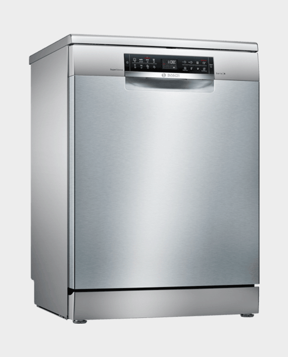 Bosch SMS68TI20M Serie 6 Free Standing Dishwasher 60 cm Stainless Steel Lacquered in Qatar