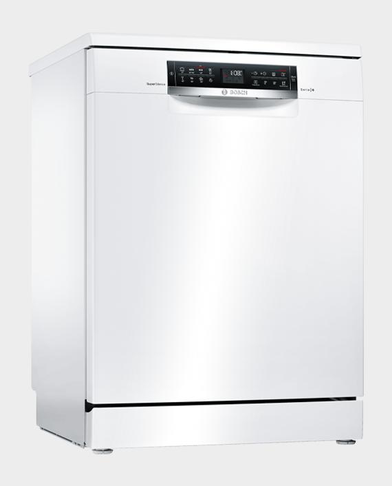 Bosch SMS68TW20M Serie 6 Free Standing Dishwasher 60cm White in Qatar