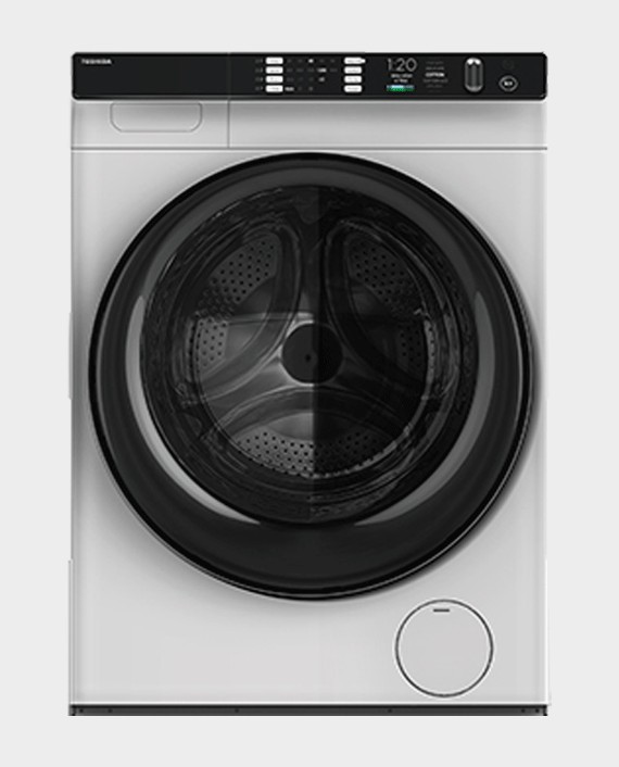 Toshiba TW-BH110W4B 10kg Front Load Washing Machine White in Qatar