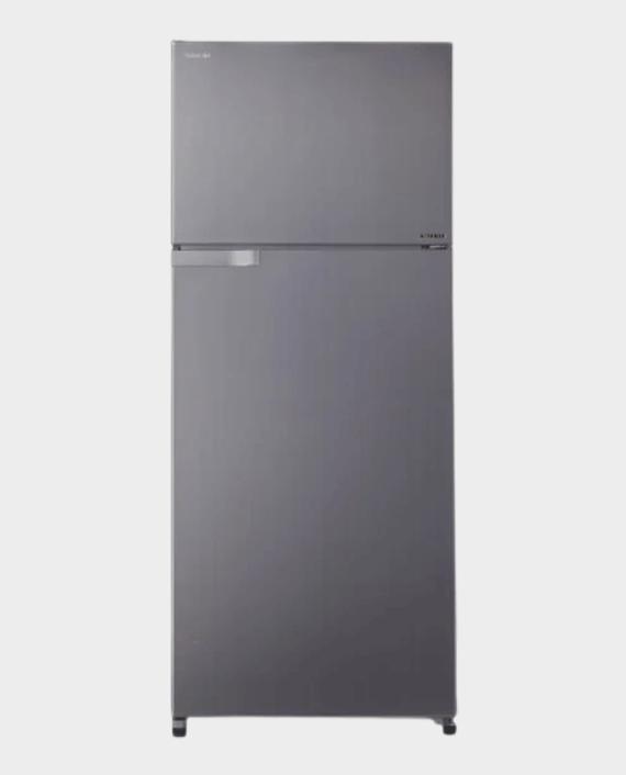 Toshiba GR-H655UBZ(DS) Double Door Refrigerator 655 L Dark Silver in Qatar