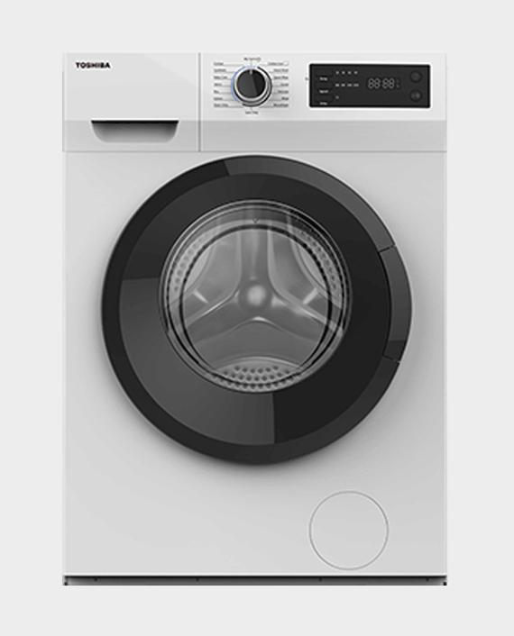 Toshiba TWD-BK90S2B(WK) 8/5kg Front Load Washer & Dryer White in Qatar