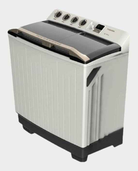Toshiba VH-H130WB Twin Tub Top Load Washing Machine 12Kg in Qatar