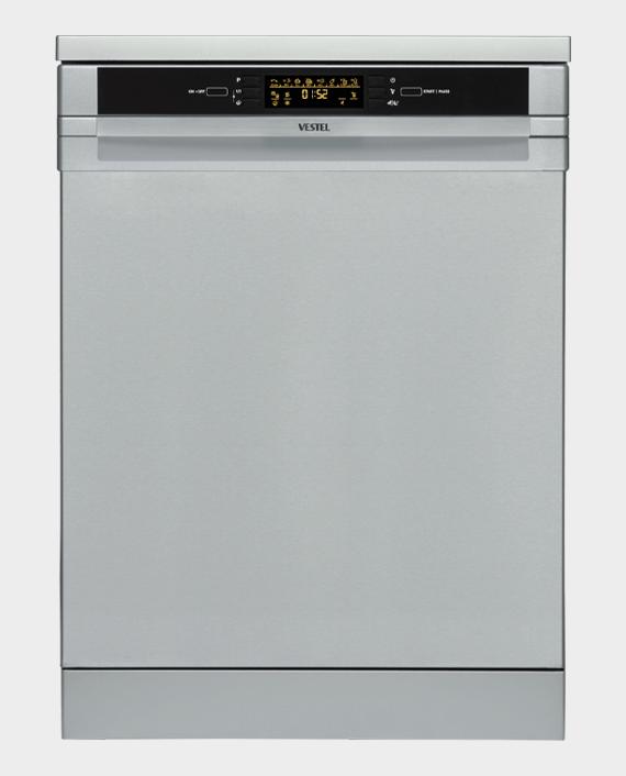 Vestel D463X Dishwasher Silver in Qatar