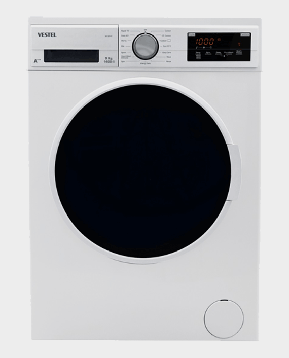 Vestel W914T Washer 9kg 1400 Rpm White in Qatar