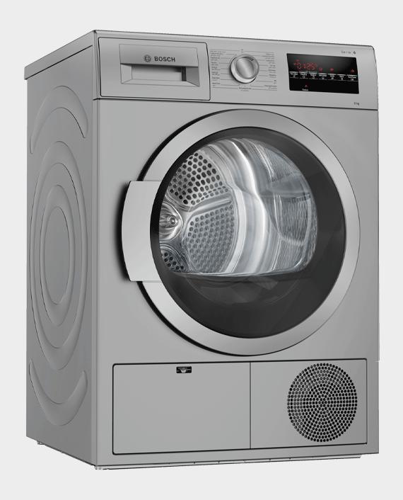 Bosch WTG8640SGC Series 6 Condenser Tumble Dryer 9 kg in Qatar