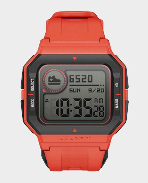 Amazfit Neo Smart Watch Orange in Qatar
