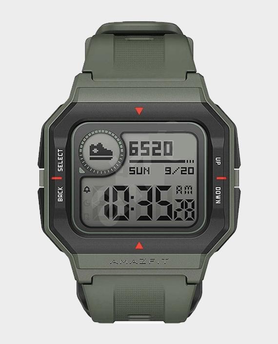 Amazfit Neo Smart Watch Green in Qatar