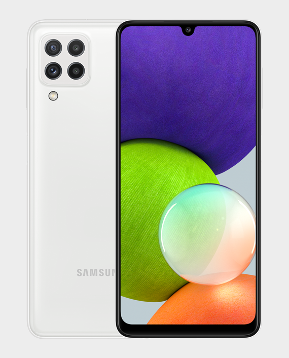 Samsung Galaxy A22 6GB 128GB White in Qatar