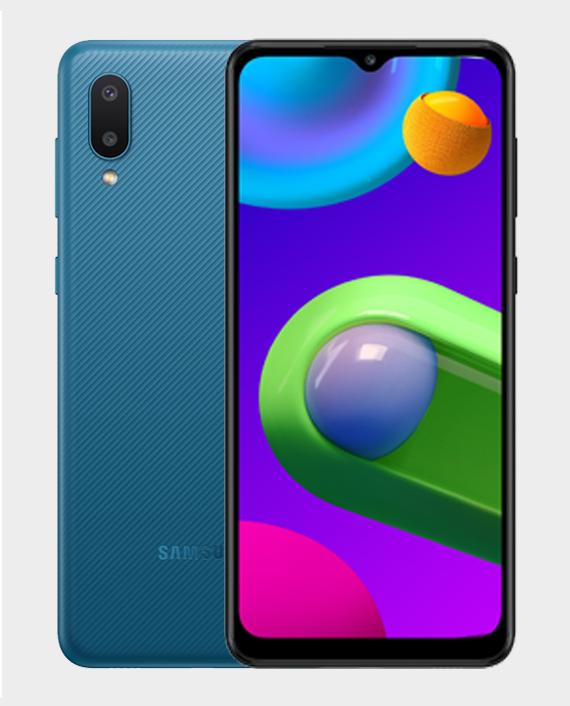 Samsung Galaxy M02 2GB 32GB Blue in Qatar