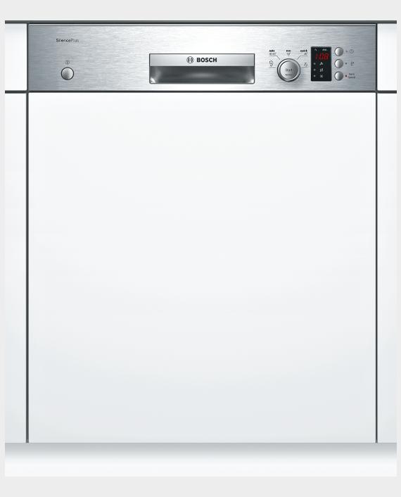 Bosch SMI53D05GC Series 4 Semi-integrated Dishwasher 60cm Stainless steel in Qatar