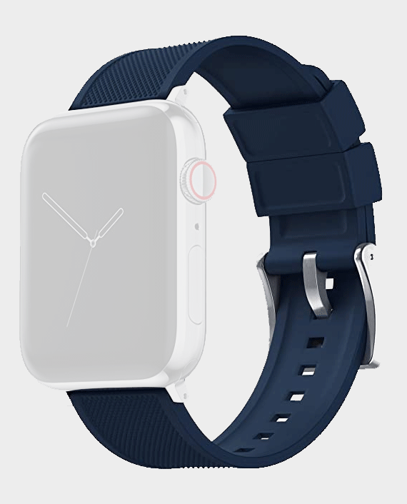 Green Elite Silicone With Style Strap for Apple Watch 38/40mm Blue in Qatar