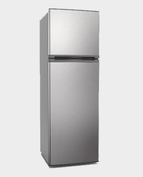 Akai AKRFD500 420L Double Door Refrigerator Silver in Qatar