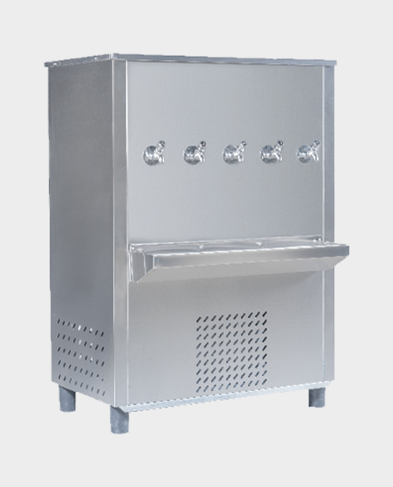 Akai AWC130GT5 Stainless Steel 125G Water Cooler with 5 Taps in Qatar