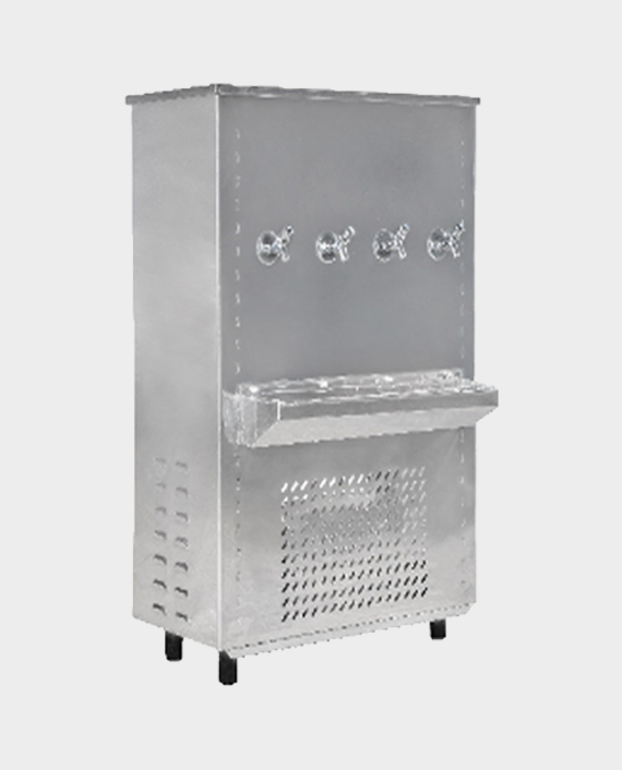 Akai AWC87GT4 Stainless Steel 85G Water Cooler with 4 Taps in Qatar