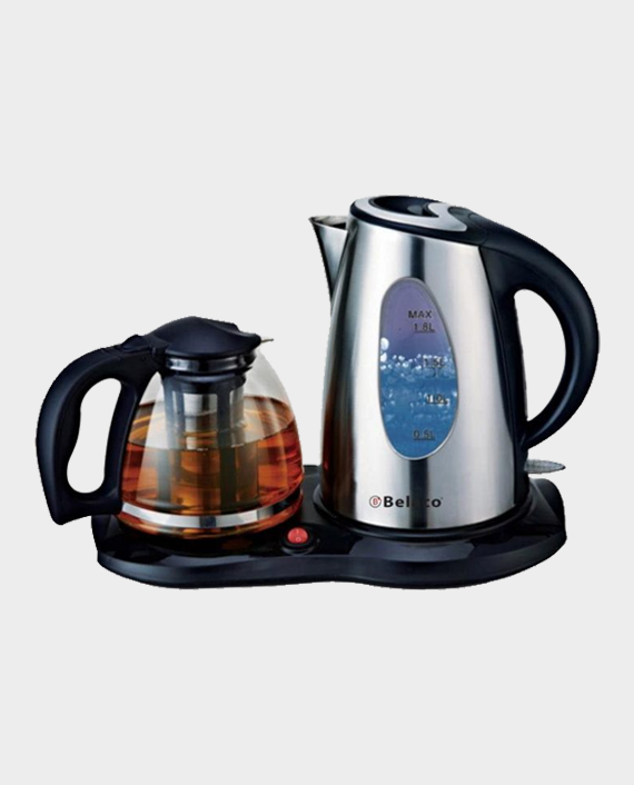 Belaco BKTP-01 Stainless Steel Kettle with Pot in Qatar