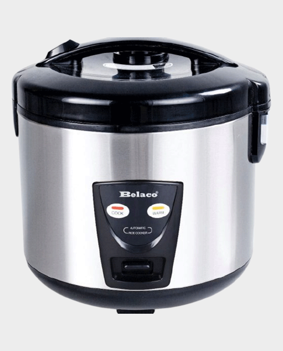 Belaco BRC-180K Rice Cooker with Steamer 1.8L Deluxe in Qatar