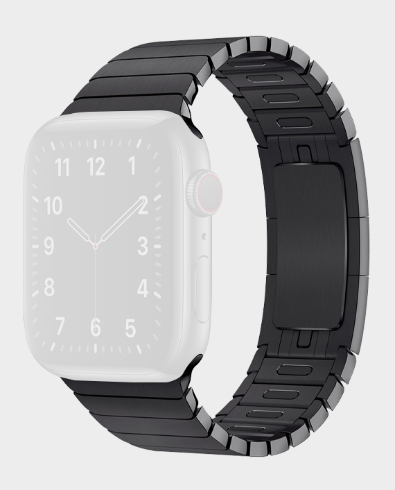 Green GNSTPST44BK Acero Correa Link Bracelet for Apple Watch 42/44mm in Qatar