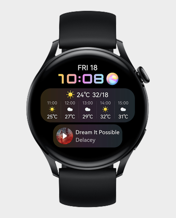 Huawei Watch 3 Active LTE Black