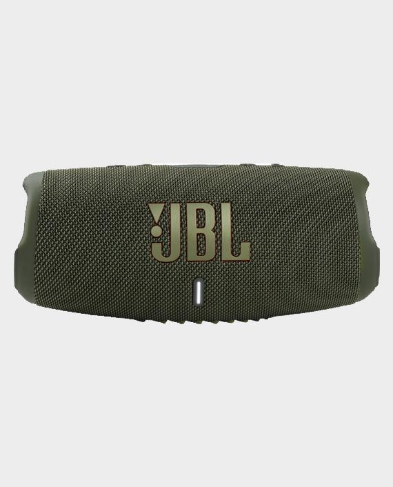 JBL Charge 5 Waterproof Portable Bluetooth Speaker Green in Qatar