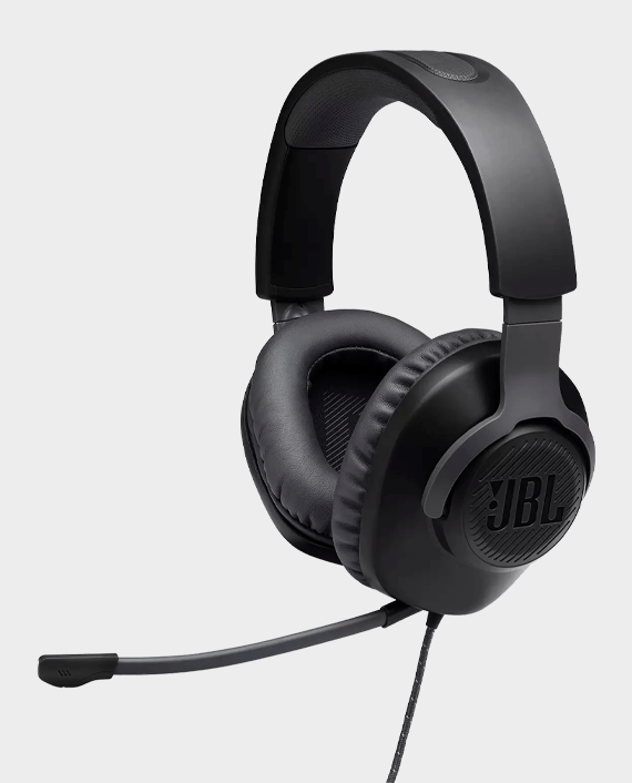 JBL Quantum 100 Wired Over-Ear Gaming Headphones in Qatar