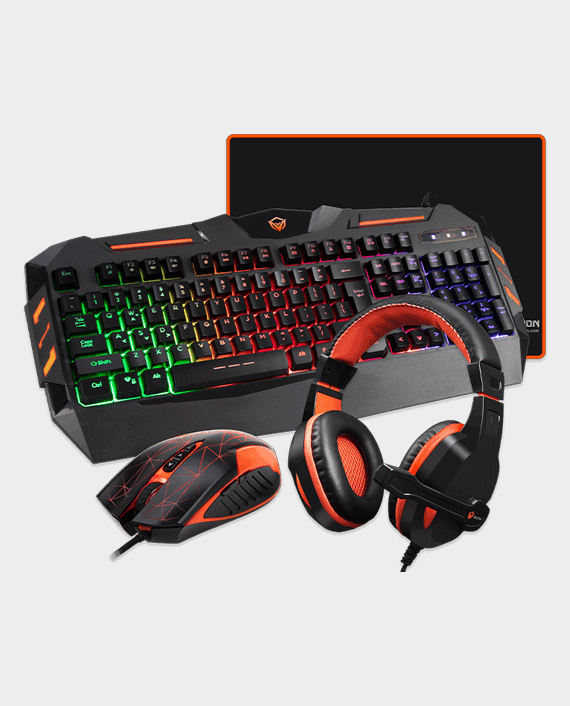 Meetion MT-C500 4 in 1 Gaming Mouse Keyboard and Headset with Mouse Pad Combo Kit in Qatar