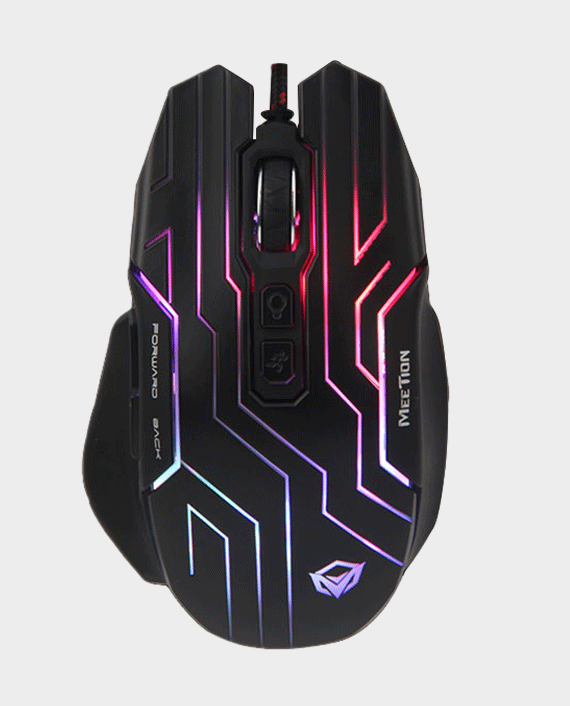 Meetion MT-GM22 Dazzling Gaming Mouse in Qatar