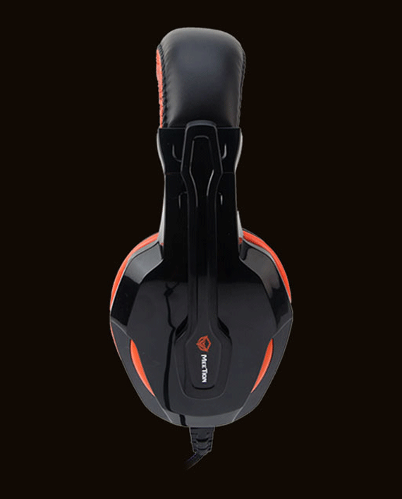 Meetion MT-HP010 Noise-Canceling Wired Gaming Headset with Mic Black