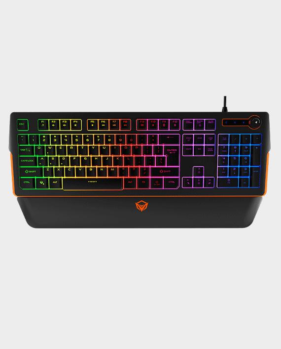 Meetion MT-K9520 RGB Magnetic Wrist Rest Gaming Keyboard in Qatar