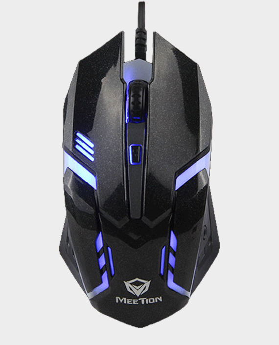 Meetion MT-M371 USB Wired Backlit Mouse in Qatar