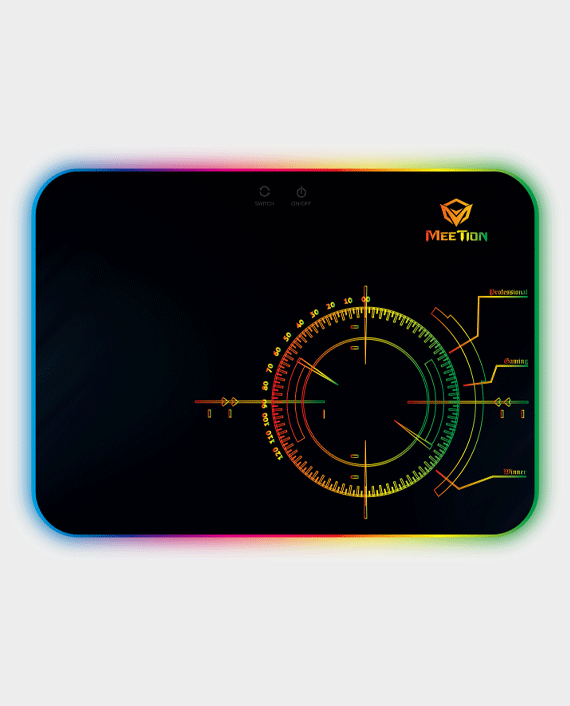 Meetion MT-P010 Backlit Gaming Mouse Pad in Qatar