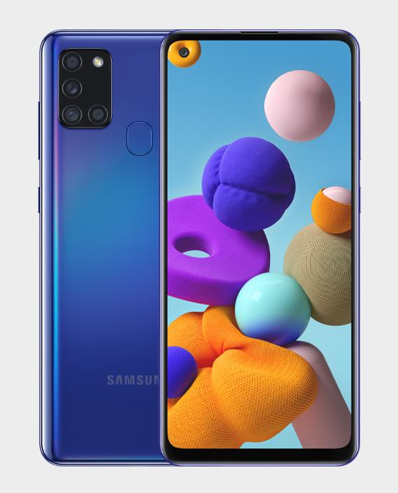 Samsung Galaxy A21S 6GB 128GB Blue in Qatar