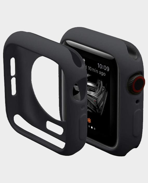 Green GNSTYGW44BK Stylin Guard Pro Case For Apple Watch 44mm in Qatar