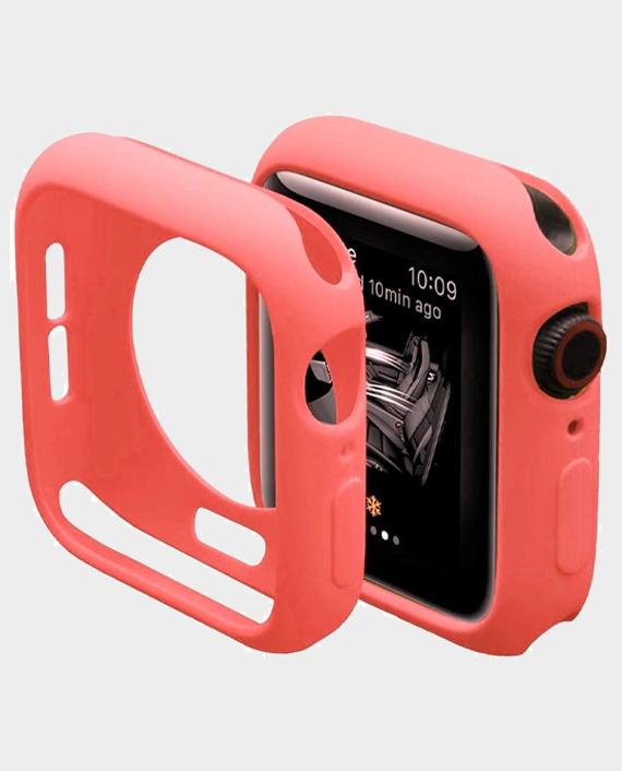 Green GNSTYGW44PK Stylin Guard Pro Case For Apple Watch 44mm Pink in Qatar