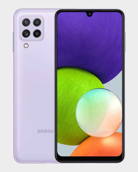 Samsung Galaxy A22 6GB 128GB Violet in Qatar