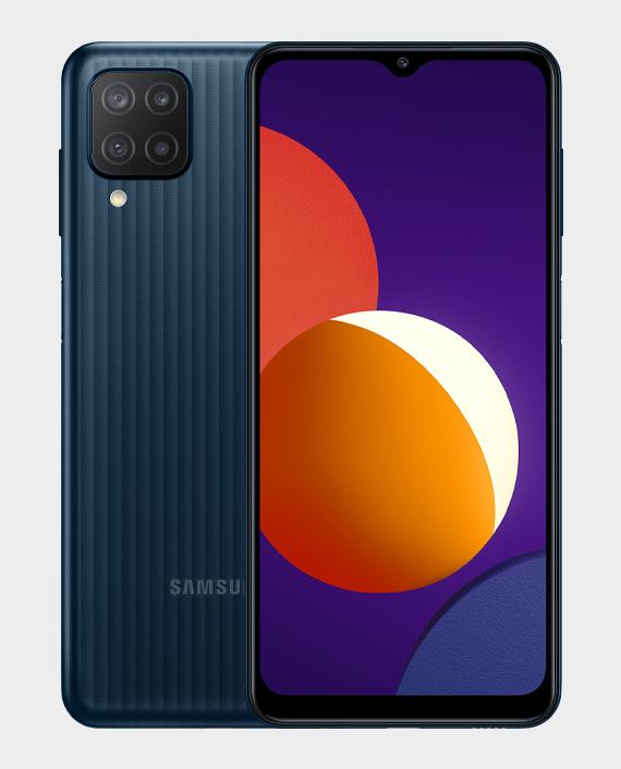 Samsung Galaxy M12 4GB 128GB Black in Qatar