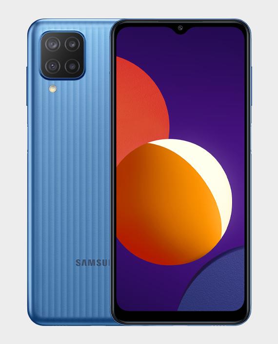 Samsung Galaxy M12 4GB 128GB Blue in Qatar